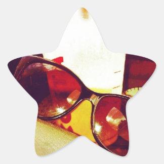 Summer Days Star Sticker
