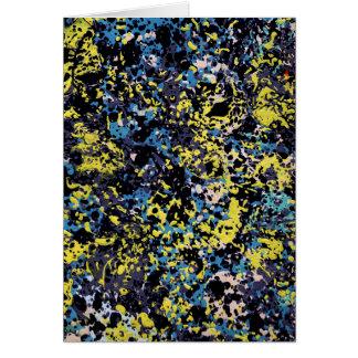 SUMMER DAZE (an abstract art design) ~ Greeting Card