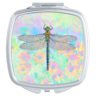 Summer Dragonfly Compact Mirror