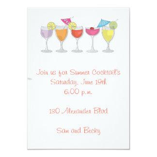 Summer Drinks Invitation