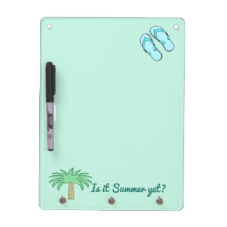 Summer Dry Erase Message Board