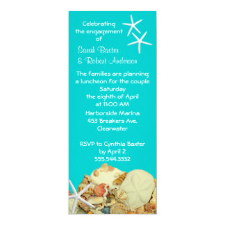 Summer Engagement Party Invitations