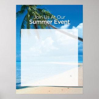 "Summer Event 18x24"" Poster"