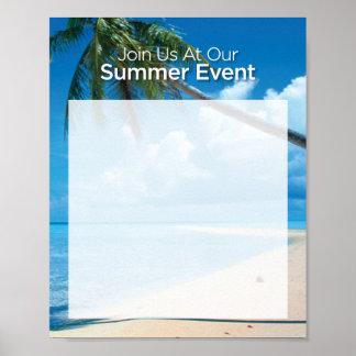"Summer Event 8x10"" Poster"