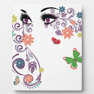 Summer Eyes with Floral 4 Display Plaques