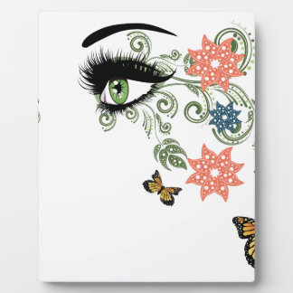 Summer Eyes with Floral Photo Plaques