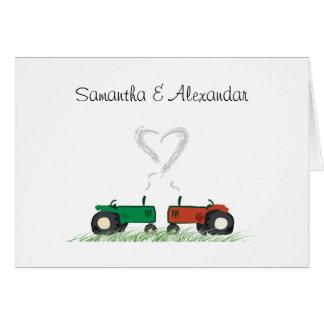 Summer Farm Wedding Invitation Card