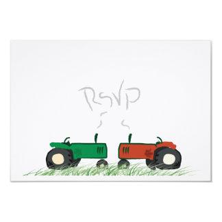 Summer Farm Wedding RSVP Card
