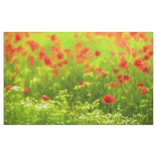 Summer Feelings - wonderful poppy flowers I Fabric