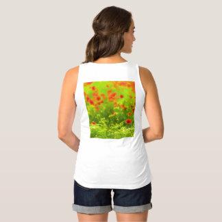 Summer Feelings - wonderful poppy flowers I Maternity Singlet