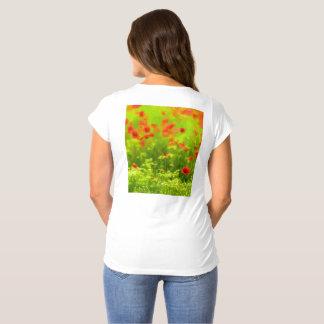 Summer Feelings - wonderful poppy flowers I Maternity T-Shirt