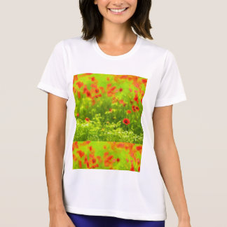 Summer Feelings - wonderful poppy flowers I T-Shirt