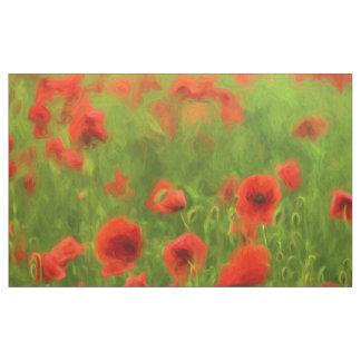 Summer Feelings - wonderful poppy flowers II Fabric