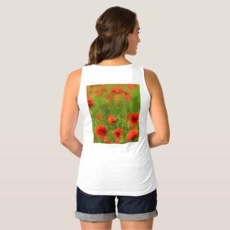 Summer Feelings - wonderful poppy flowers II Maternity Singlet