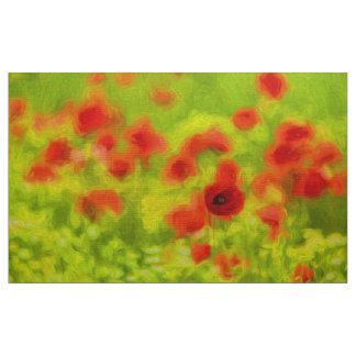 Summer Feelings - wonderful poppy flowers III Fabric