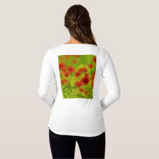 Summer Feelings - wonderful poppy flowers III Maternity T-Shirt