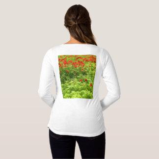 Summer Feelings - wonderful poppy flowers V Maternity T-Shirt