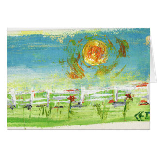 Summer Fence Card