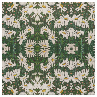 Summer Field Daisy Fabric