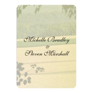 Summer Fields Wedding Wedding Invitations