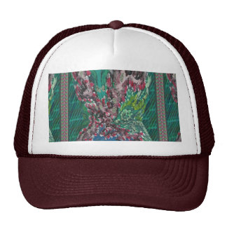 Summer FIRES Tread responsily save JUNGLES GIFTS Trucker Hat