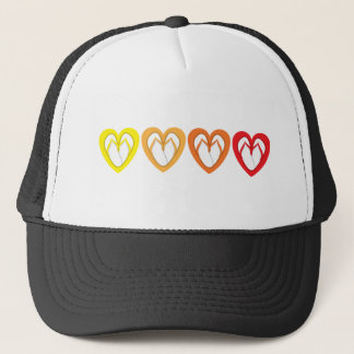 summer flip flop design trucker hat