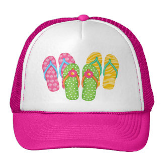 Summer Flip Flops Trucker Hat