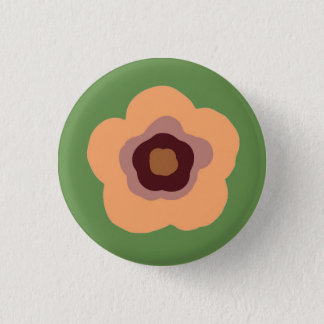 Summer Floral Garden 3 Cm Round Badge