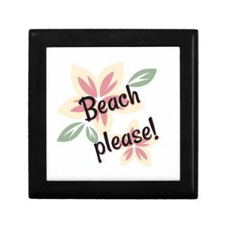 Summer Florals - Beach Please Gift Box