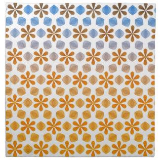Summer Flower Field Pattern Napkin