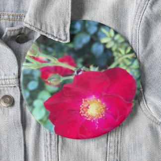 Summer Flower Lite 6 Cm Round Badge