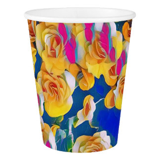Summer Flower Pop Paper Cup