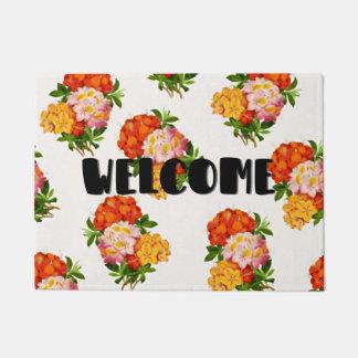 Summer Flowers Doormat