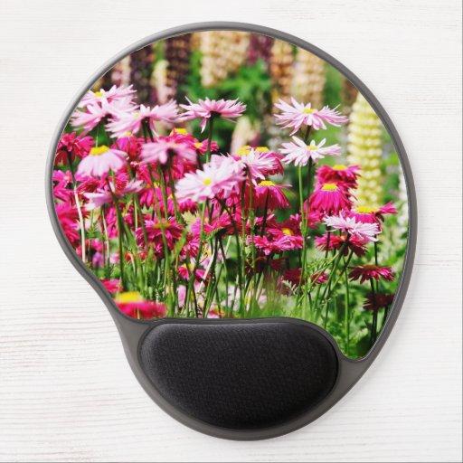 Summer Flowers Gel Mousepad