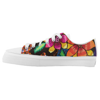Summer flowers low tops