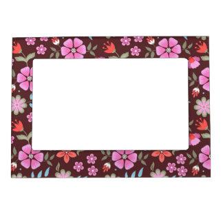 Summer Flowers Magnetic Frame
