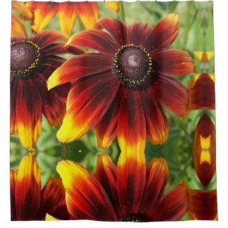 Summer Flowers Photo Shower Curtain