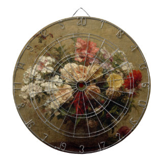 Summer Flowers - realism Dartboard