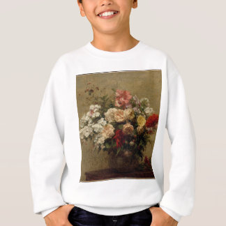 Summer Flowers - realism Sweatshirt