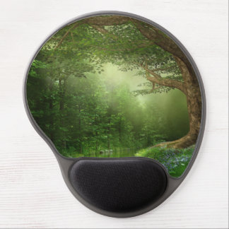 Summer Forest River Gel Mouse Pad