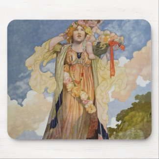 Summer from The Seasons Mouse Pad