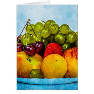 Summer fruits card