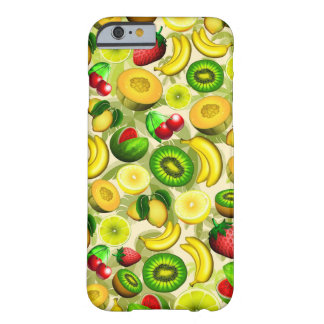 Summer Fruits Juicy Pattern iPhone 6/6s Barely There iPhone 6 Case