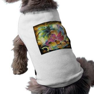 Summer Fruits Silk Art Painting Sleeveless Dog Shirt