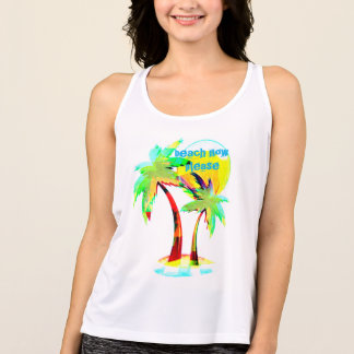 summer fun beach now party hard palm tree top