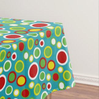 Summer Fun Bubble Dots Tablecloth