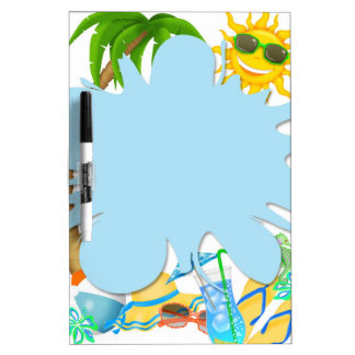 Summer Fun Dry Erase Board