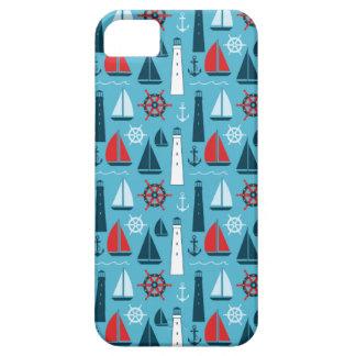 Summer Fun Nautical SailBoat Pattern iPhone 5 5S iPhone 5 Case