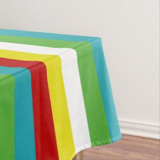 Summer Fun Palette Stripes Tablecloth