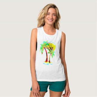 summer fun party with me palm trees top design